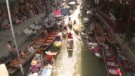 WS HA Damnoen Saduak floating market, Bangkok, Thailand