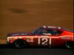 Dan Gurney racing Mercury Cyclone stock car during Riverside 500 Riverside International Raceway / stock cars speeding toward camera / Roger...