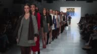 CLEAN Dan Liu February 2017 New York Fashion Week at Skylight Clarkson Sq on February 10 2017 in New York City