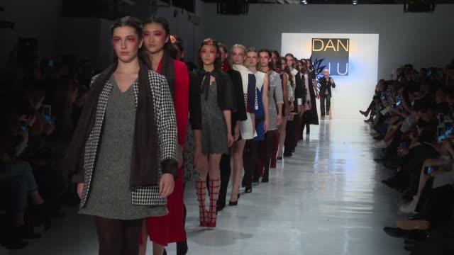 CLEAN Dan Liu February 2017 New York Fashion Week at Skylight Clarkson Sq on February 10 2017 in New York City