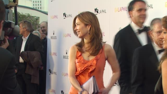 Dana Delaney at the Inaugural Gala for the Los Angeles Philharmonic at Los Angeles CA