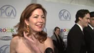 Dana Delaney on working with producer George Perkins what makes a good producer and her producing experience at the 20th Annual Producers Guild...