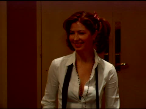 Dana Delany at the Bette Midler's New York Restoration Project's 'Hulaween' at the Waldorf Astoria in New York New York on October 31 2006