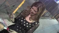 Dana Delany greets fans in Hollywood