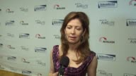 Dana Delany on her involvement in the Scleroderma Research Foundation on if it was emotional working on Bob Saget's movie about his sister on what...