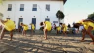 WS Dancers perform during the Festival of the Good Death on August 15 2014 in Cachoeira Brazil The AfroBrazilian festival put on by the Sisterhood of...
