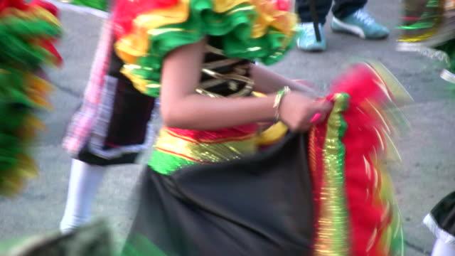 HD: Dancing at a carnival