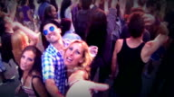 Ballando al concerto.