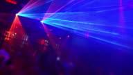 HD-Tanz in der disco Laserlicht