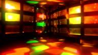 Ballare in un Night Club luci