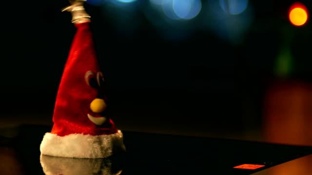 Dancing Santa, Night, Funny, Humor