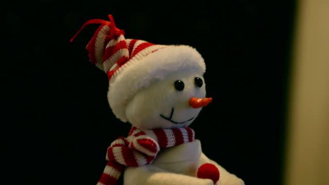 Dansen Snowman zich omdraait