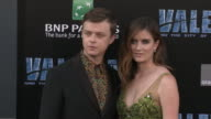 Dane DeHaan and Anna Wood at the 'Valerian and the City of a Thousand Planets' World Premiere at TCL Chinese Theatre on July 17 2017 in Hollywood...
