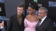Dane DeHaan Rihanna and Luc Besson at the 'Valerian and the City of a Thousand Planets' World Premiere at TCL Chinese Theatre on July 17 2017 in...