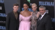Dane DeHaan Rihanna Cara Delevingne and Luc Besson at the 'Valerian and the City of a Thousand Planets' World Premiere at TCL Chinese Theatre on July...