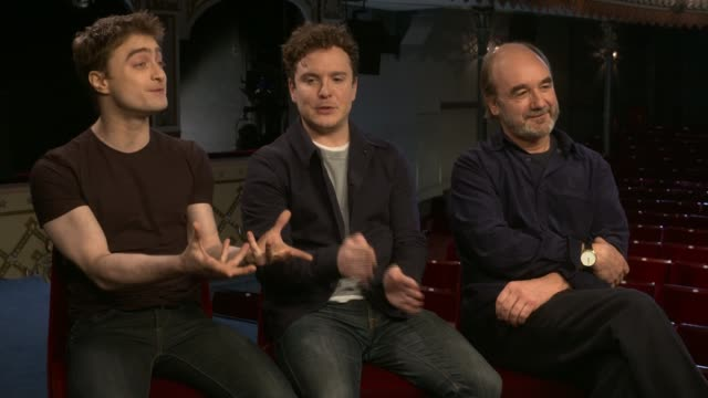 Daniel Radcliffe stars in Tom Stoppard play Daniel Radcliffe stars in Tom Stoppard play Daniel Radcliffe interview SOT on Gary Oldman having played...