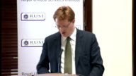 Danny Alexander speech on Trident Alternatives Review Alexander speech SOT Second the Review has not addressed the question of whether or not the UK...