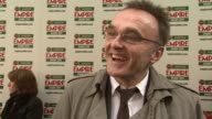 Danny Boyle on being indebted to Empire after years of support for his films on where all the awards for Slumdog millionaire being all around the...