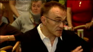 Danny Boyle returns to Radcliffe social club after winning Oscar Danny Boyle press conference continued SOT kids got a great reception composer and...