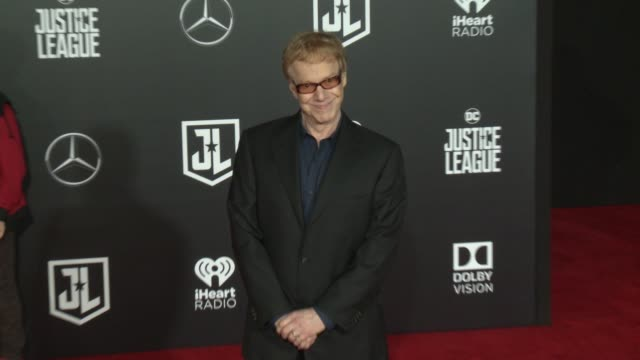 Danny Elfman at the 'Justice League' World Premiere at Dolby Theatre on November 13 2017 in Hollywood California