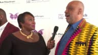 INTERVIEW – Danny Simmons CoFounder RUSH Philanthropic Arts Foundation on the artists that the foundation supports at 2017 Rush Philanthropic Arts...