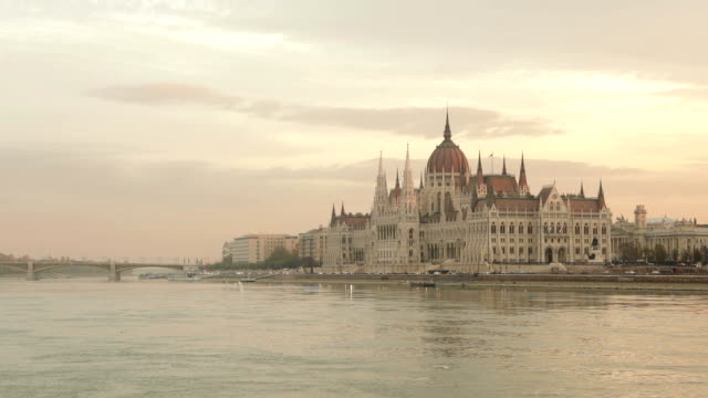 Danube River and Hungarian Parliament Building