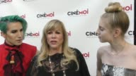 INTERVIEW Daphna Ziman talks about her new show Fashionistas outside the Laemmle Music Hall in Beverly Hills in Celebrity Sightings in Los Angeles