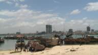 dar es salaam harbour, tanzania
