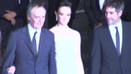 Dario Argento Unax Ugalde Marta Gastini Thomas Kretschmann and Asia Argento at Dario Argento's Dracula 3D Premiere 65th Cannes Film Festival on May...