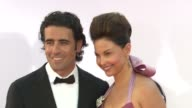 Dario Franchitti Ashley Judd at 64th Primetime Emmy Awards Arrivals on 9/23/12 in Los Angeles CA