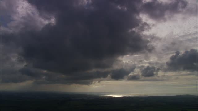 Dark Clouds Over Bideford Bay
