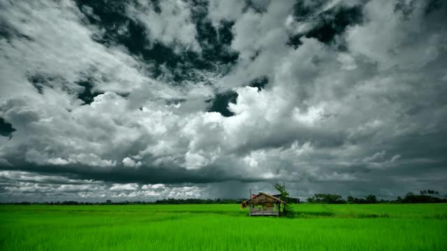 Dunkle Wolken Zeitraffer (HDR