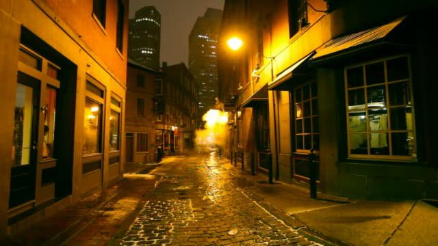 Dark Cold Urban Street