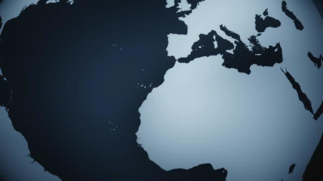 Dark Globe Animation (Loopable)