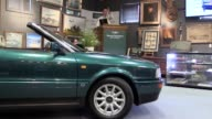 A dark green convertible Audi used by Diana Princess of Wales has sold for £58000 at auction The A4 Cabriolet 23E which was loaned to Diana for...