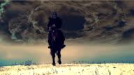 dark knight rides in slowmotion