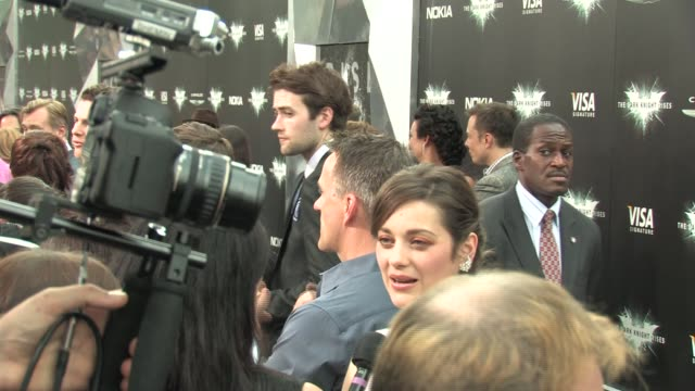 Dark Knight Rises premiere broll at Lincoln Square Theater on July 16 2012 in New York NY