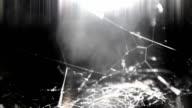 Dark spider web