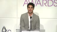 Darren Criss announces the nominees at the 2014 People's Choice Awards Nominations Announcement in Beverly Hills 11/05/13