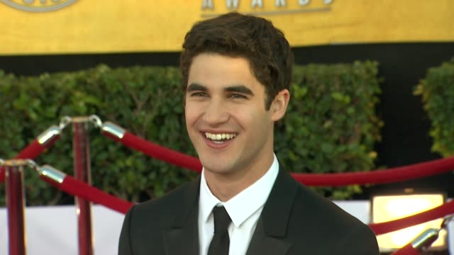 Darren Criss at 18th Annual Screen Actors Guild Awards Arrivals on 1/29/12 in Los Angeles CA