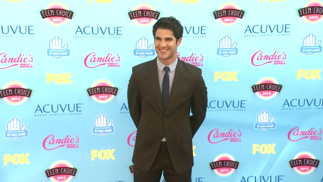 Darren Criss at 2013 Teen Choice Awards Arrivals on 8/11/2013 in Universal City CA
