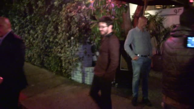 Darren Criss at Chateau Marmont WeHo Celebrity Sightings in Los Angeles on in Los Angeles California