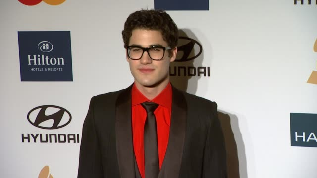 Darren Criss at Clive Davis And The Recording Academy's 2012 PreGRAMMY Gala And Salute To Industry Icons Honoring Richard Branson on 2/11/12 in...