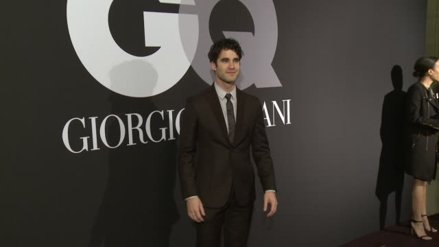 Darren Criss at GQ Celebrates The Grammys With Giorgio Armani at Hollywood Athletic Club on February 08 2015 in Hollywood California