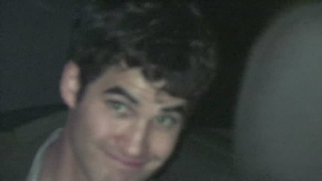 Darren Criss at STK in West Hollywood 02/04/12