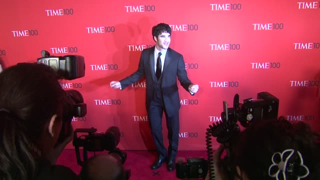 Darren Criss at the TIME 100 Gala TIME'S 100 Most Influential People In The World at New York NY