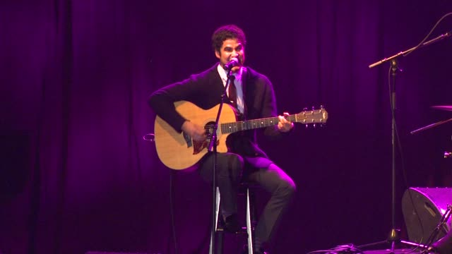 Darren Criss at The Trevor Project's 2012 'Trevor Live' Honoring Katy Perry on 12/2/12 in Los Angeles CA