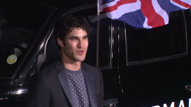Darren Criss at Topshop Topman LA Opening Party At Cecconi's on 2/13/2013 in Los Angeles CA