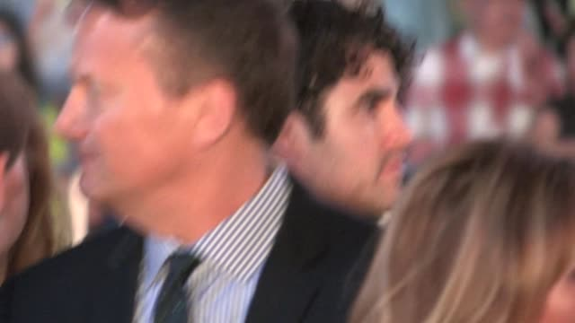 Darren Criss friends arrive at the after party for American Horror Story Freak Show in Hollywood in Celebrity Sightings in Los Angeles