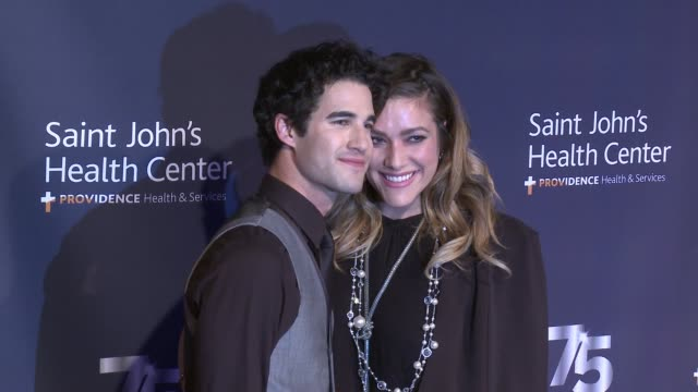 Darren Criss Mia Swier at Saint John's Health Center Foundation Hosts 75th Anniversary Gala Celebration The Future of Excellence in Personalized...